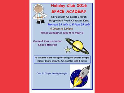 Holiday Club 2016