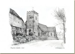 Plaxtol-church1-300x216